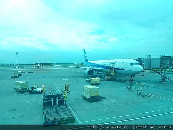 去程ANA 767