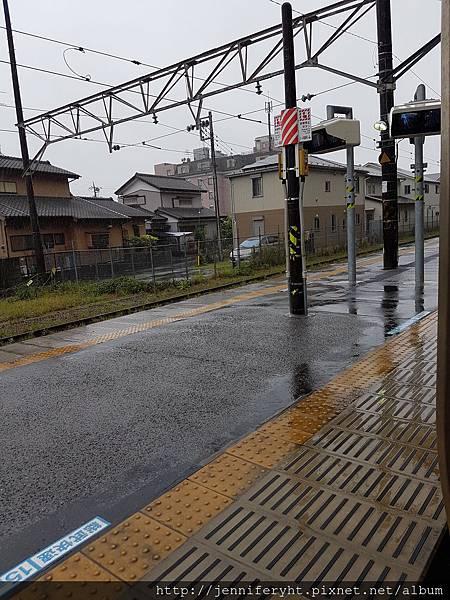 居然下大雨!!
