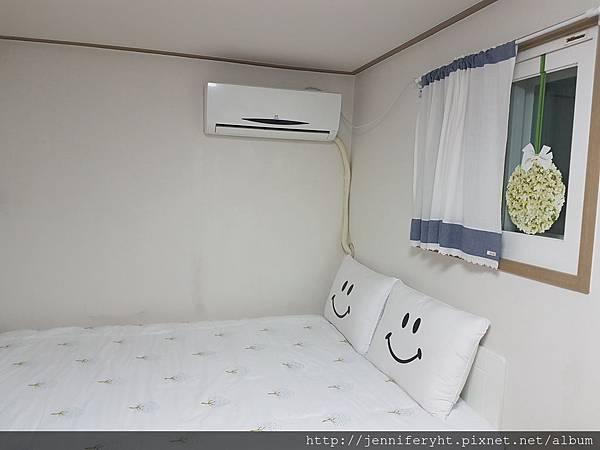 我們的首爾民宿房內