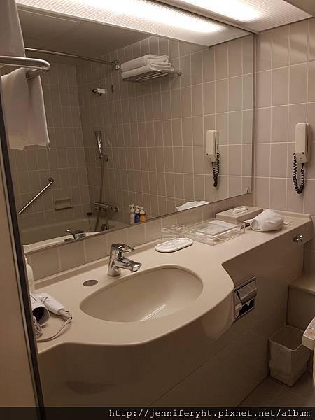 ANA札幌飯店的房間廁所挺不錯的