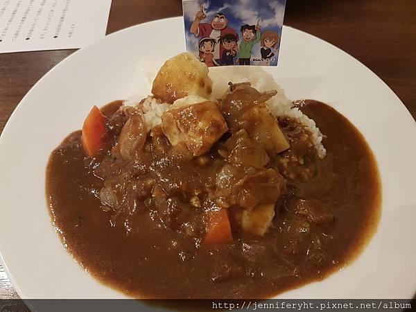 柯南主題餐廳-咖哩飯