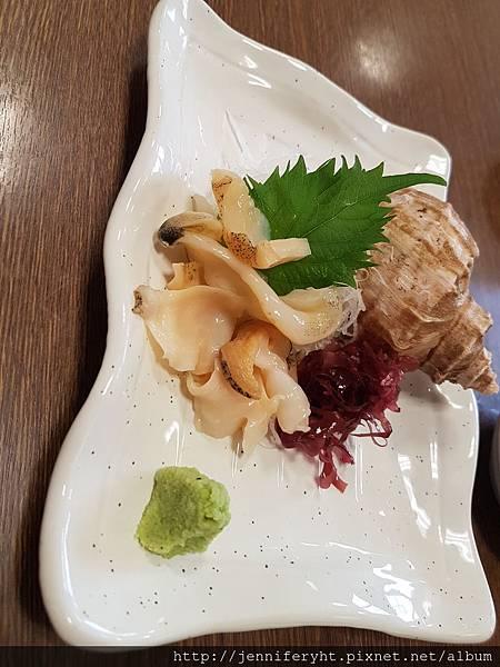 海螺生魚片