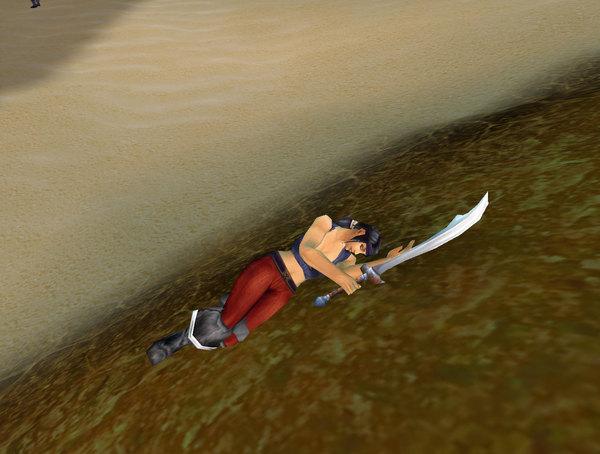 女海盜為啥連趴的姿勢都這麼美?