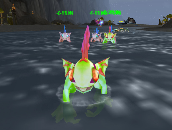 明明就是魚人寶寶,為啥說是蝌蚪...