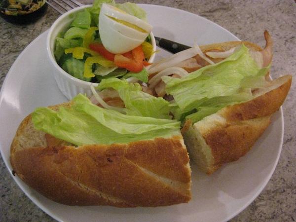 L'amour-法式燻雞三明治