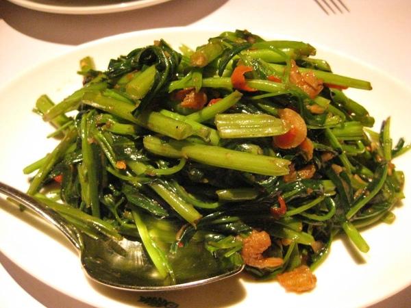 非常泰-蝦醬空心菜