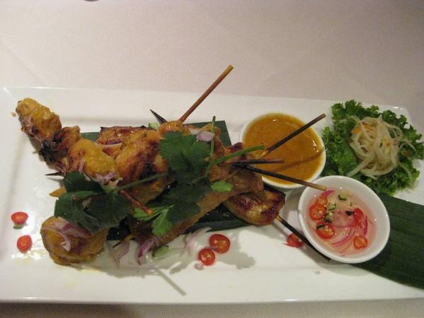 SUKHOTHAI-沙嗲雞/豬肉串