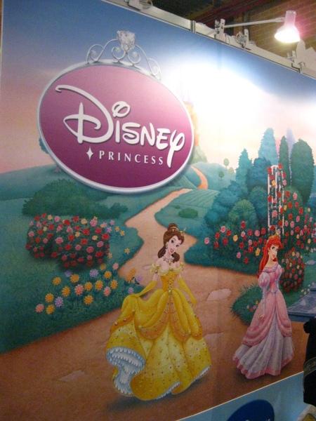 Disney的公主牆