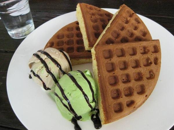 Villa Sugar-冰淇淋鬆餅