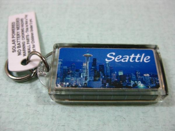 小A從西雅圖帶回來給我的小禮物