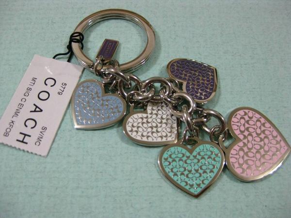 姊姊送我的COACH鑰匙圈
