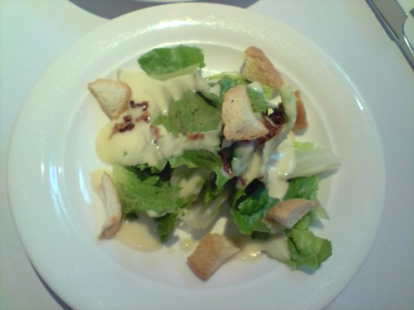 生菜沙拉-凱撒醬