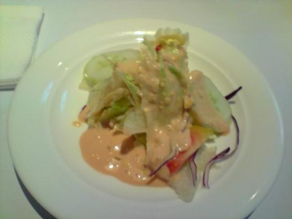 生菜沙拉-千島醬