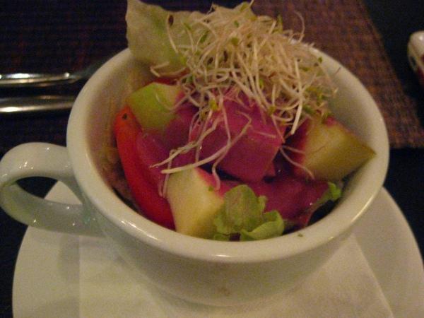 黑醋栗優格水果沙拉