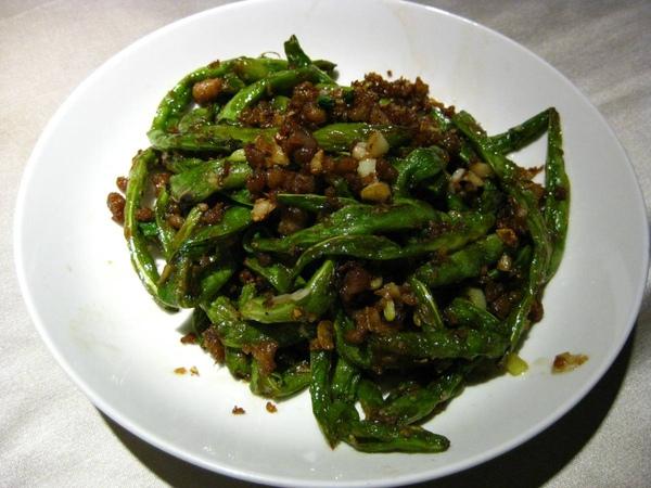 紅豆食府-乾扁四季豆