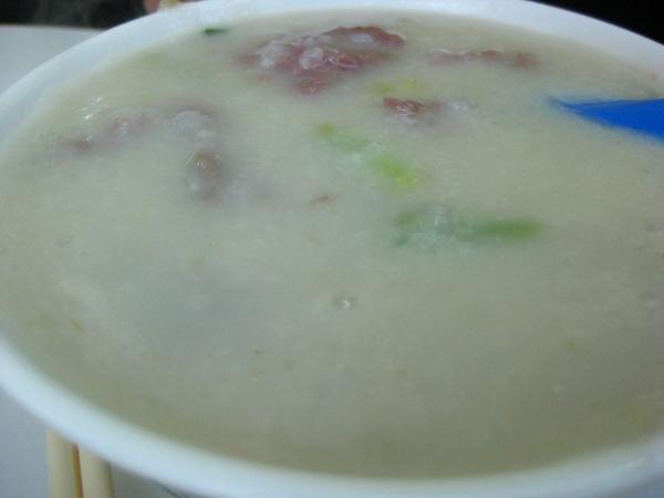 牛肉魚片粥