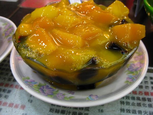 鮮芒果撈涼粉