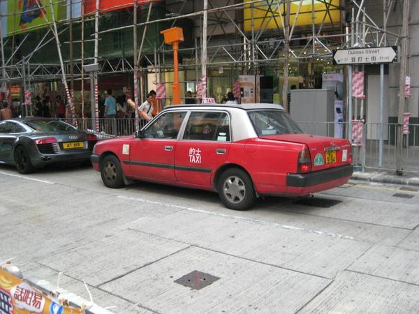 香港的士taxi