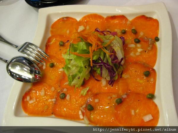 檸檬燻鮭魚
