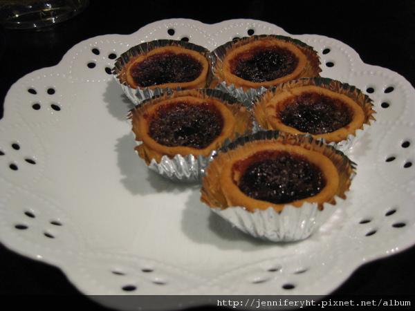 藍莓葡萄塔