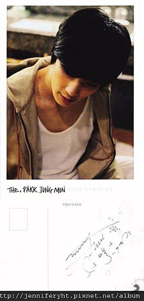 The, Park Jung Min-Postcard002