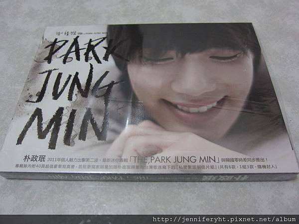 The, Park Jung Min-Cover
