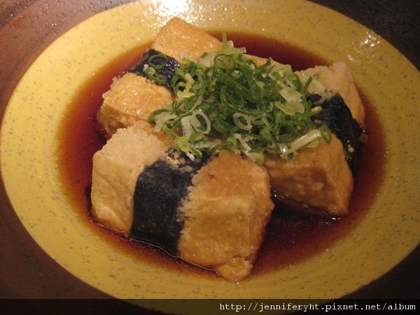 豆腐磯邊揚