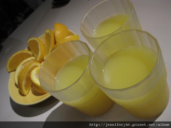 飯前的柳丁和柳丁汁