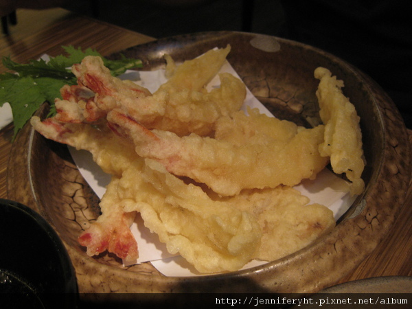 炸蝦野菜天婦羅