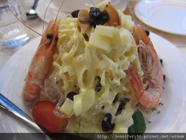 果律鮮蝦沙拉