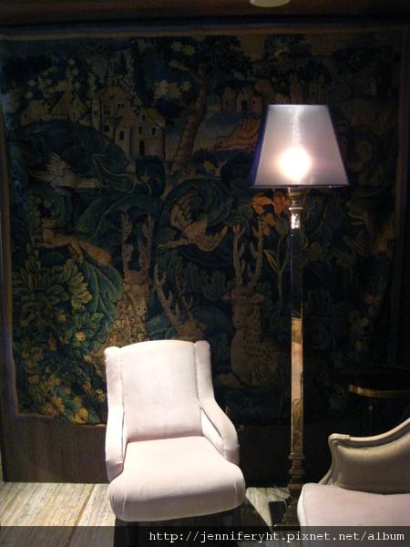 君品五樓宴會廳「亮」的waiting room