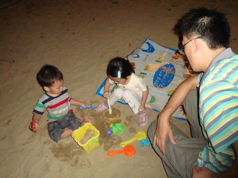 學校玩沙,攀岩09.JPG