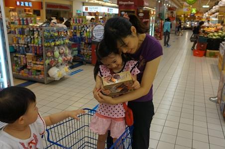 家樂福買冰給媽媽053