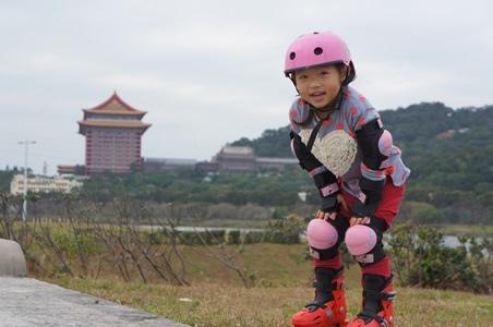 大佳騎腳踏車溜冰16
