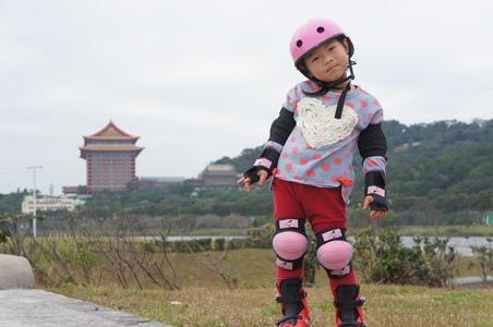 大佳騎腳踏車溜冰20