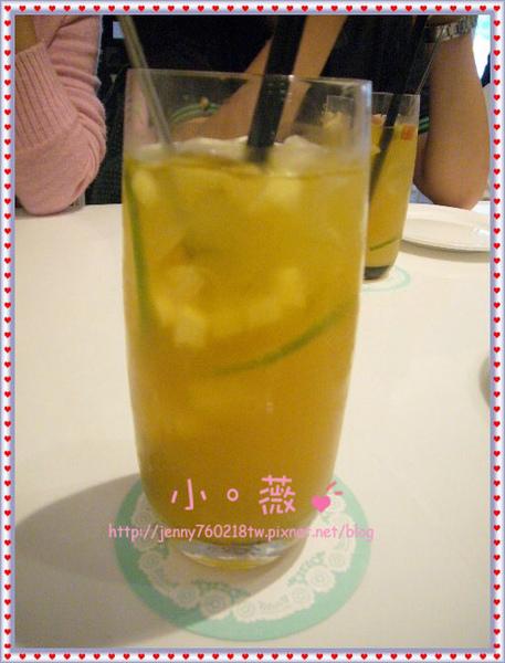 樂活蜜桃柚香冰茶