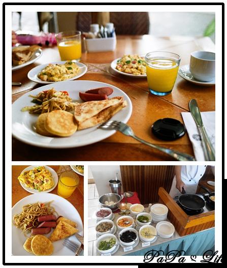 合圖(PATIO PACIFIC早餐)