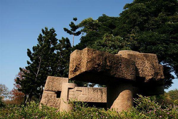 科博館- 奇特石頭造型