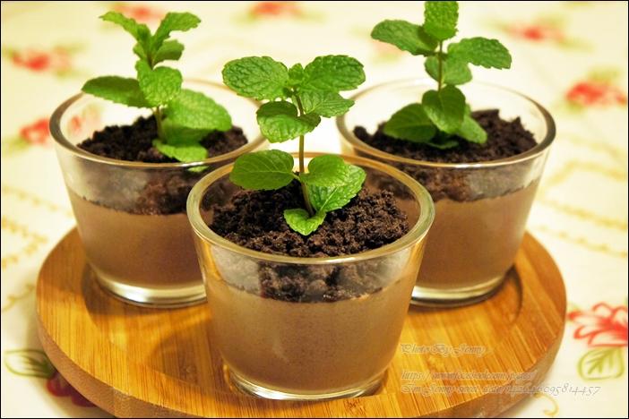 盆栽巧克力布丁6