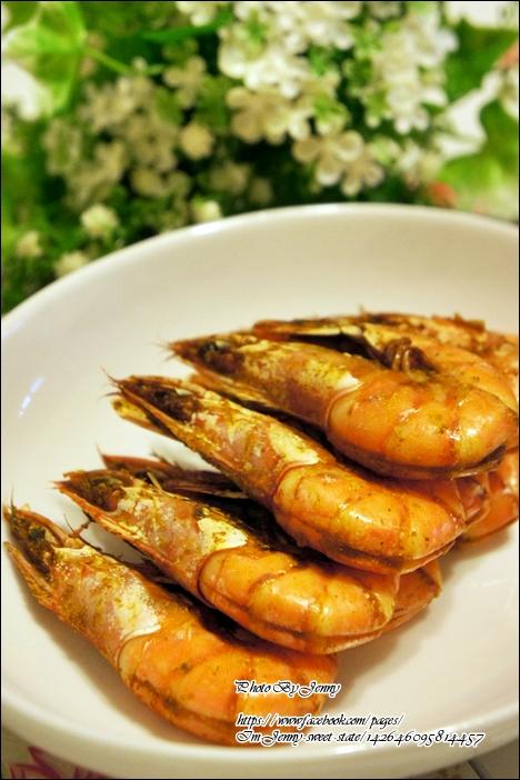 咖哩烤蝦4