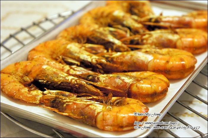咖哩烤蝦3