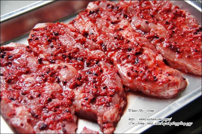 紅糟梅花肉排3