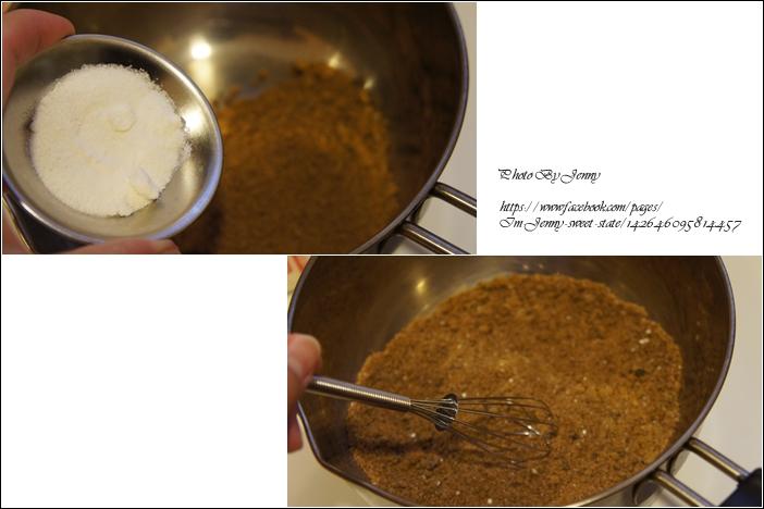 手工黑糖鮮奶布丁2