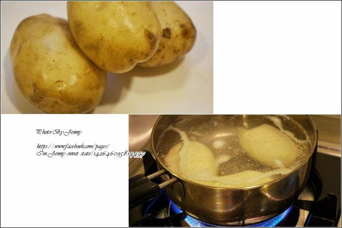 仿章魚燒風味薯泥1