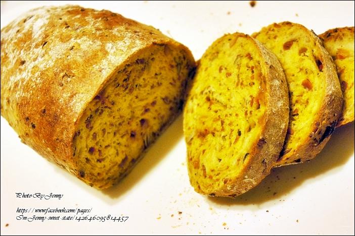 法式鄉村綜合堅果&果乾麵包5