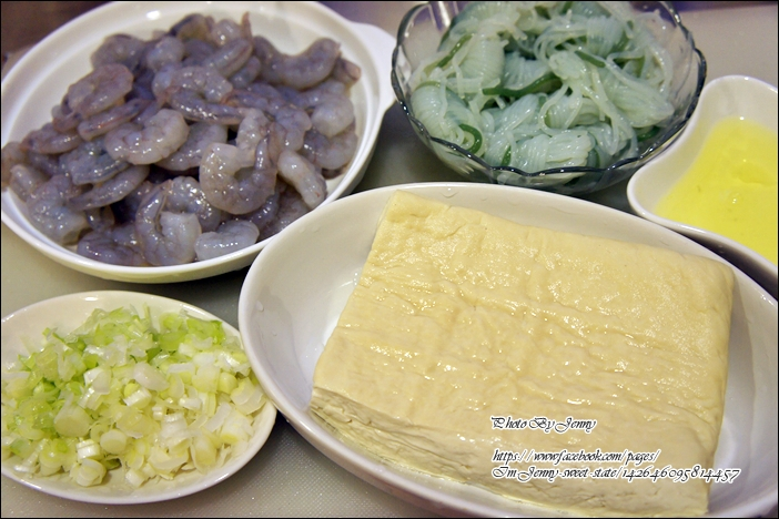 豆腐蒟蒻蝦球1