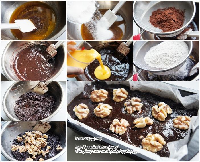 巧克力布朗尼3