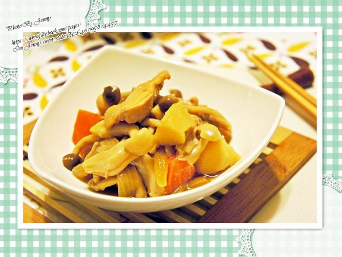 菇菇馬鈴薯燉雞肉7
