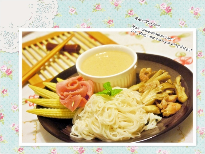 舞菇豆腐沾麵4