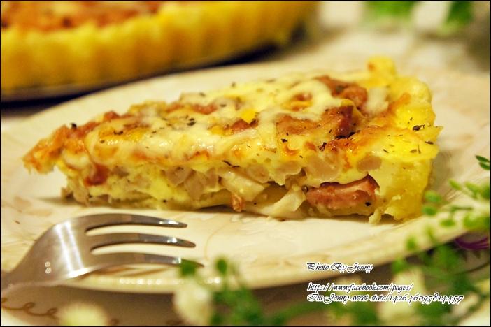 德國香腸菇菇起酥鹹派8